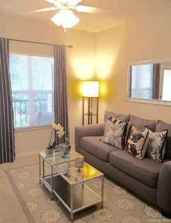 Cozy modern apartment living room decorating ideas on a budget 20