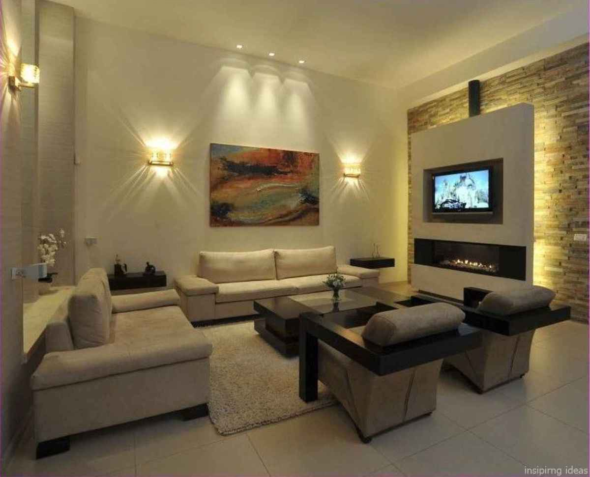 Cozy modern apartment living room decorating ideas on a budget 23