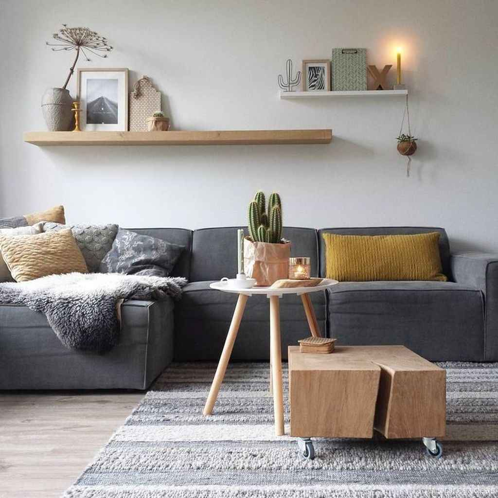 Cozy modern apartment living room decorating ideas on a budget 31