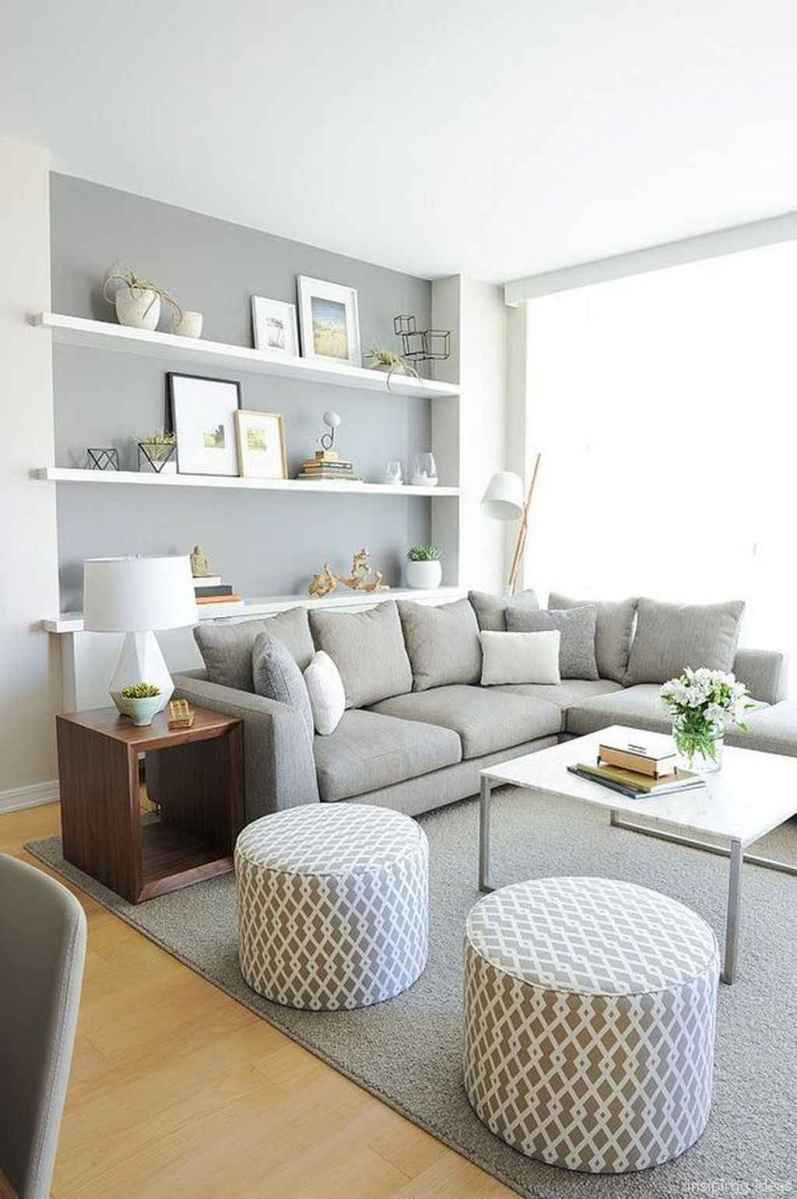 Cozy modern apartment living room decorating ideas on a budget 35