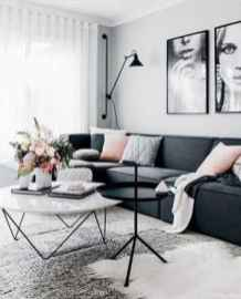Cozy modern apartment living room decorating ideas on a budget 43