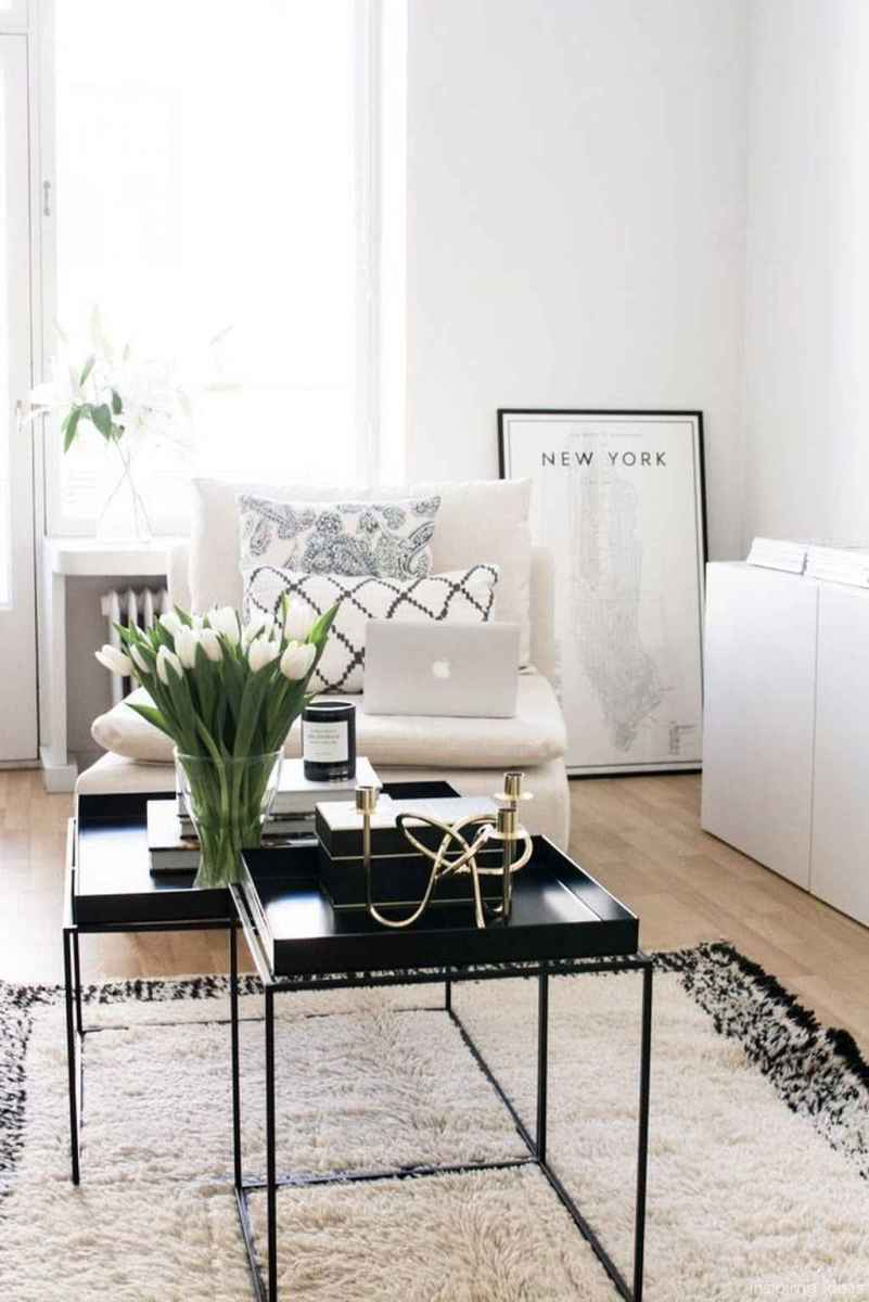 Cozy modern apartment living room decorating ideas on a budget 47