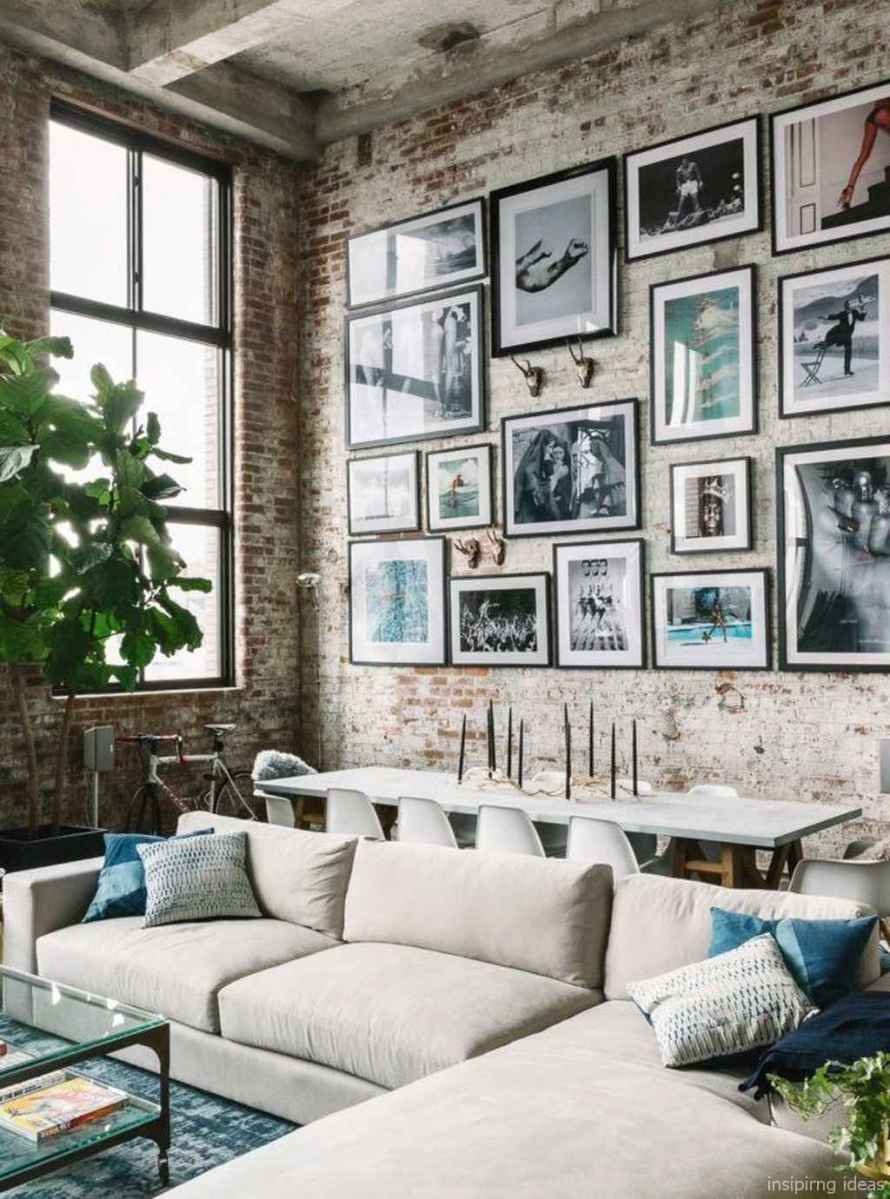 Cozy modern apartment living room decorating ideas on a budget 52