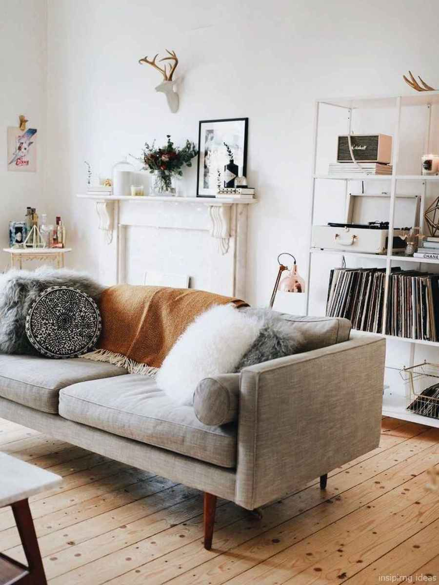 Cozy modern apartment living room decorating ideas on a budget 62