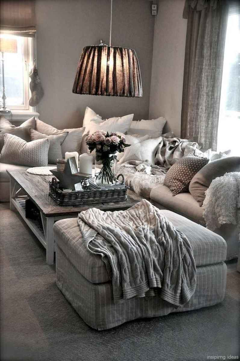 Cozy modern apartment living room decorating ideas on a budget 63