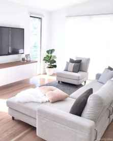 Cozy modern apartment living room decorating ideas on a budget 66