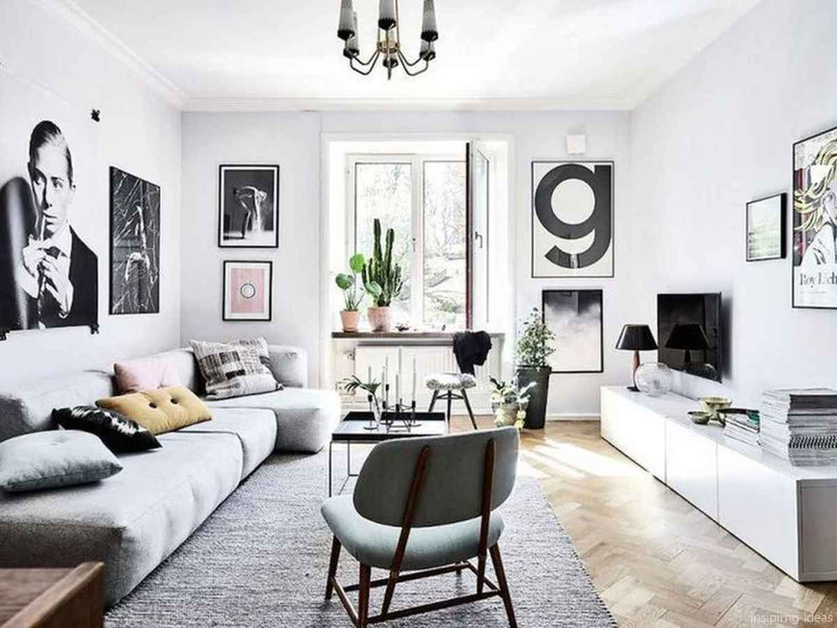 Cozy modern apartment living room decorating ideas on a budget 72