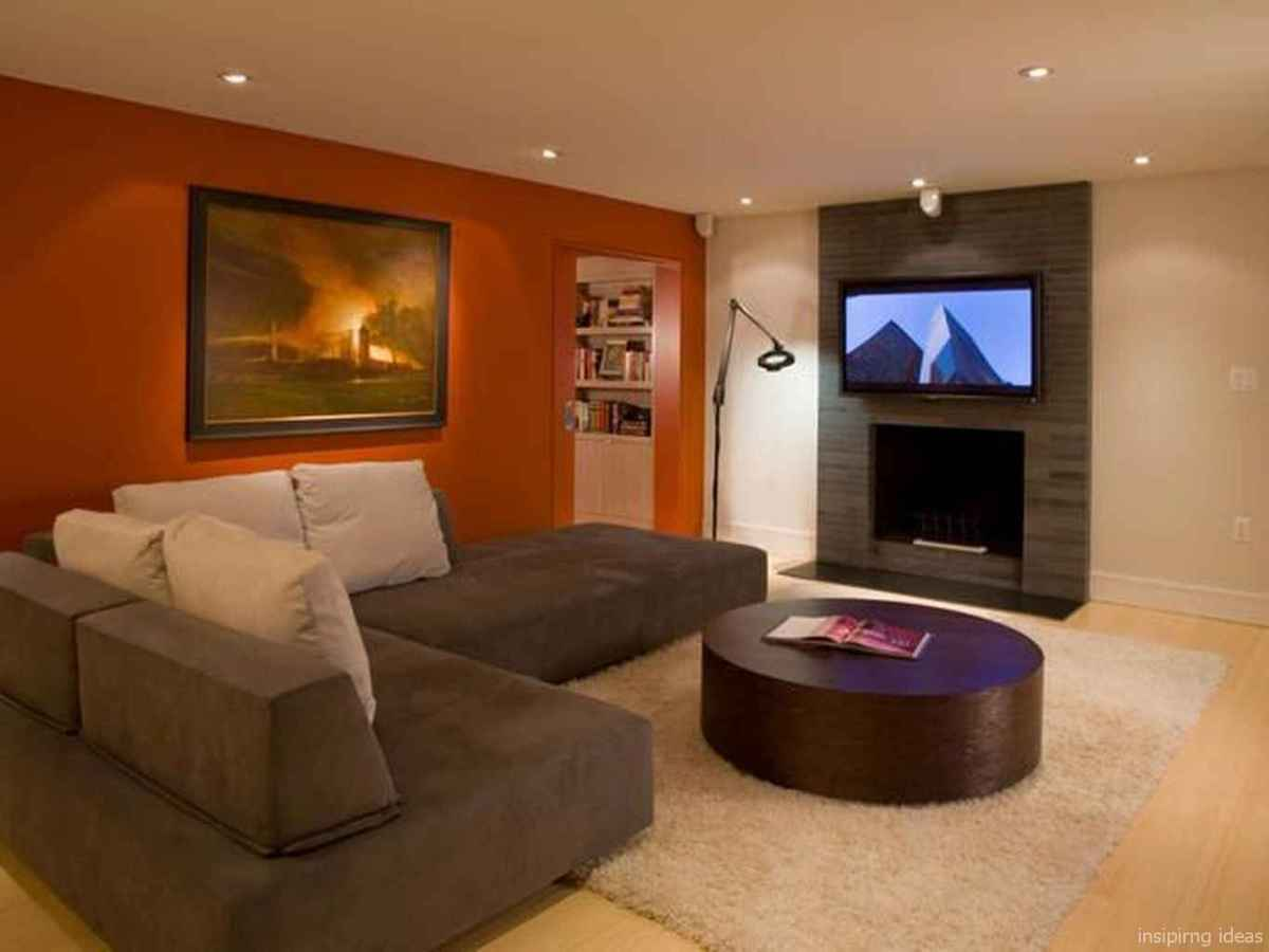 Cozy modern apartment living room decorating ideas on a budget 74