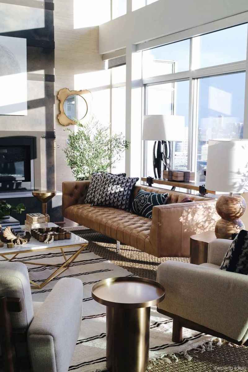 Cozy modern apartment living room decorating ideas on a budget 76