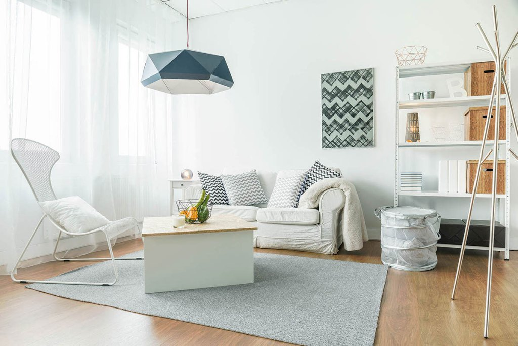 small living room color pallette
