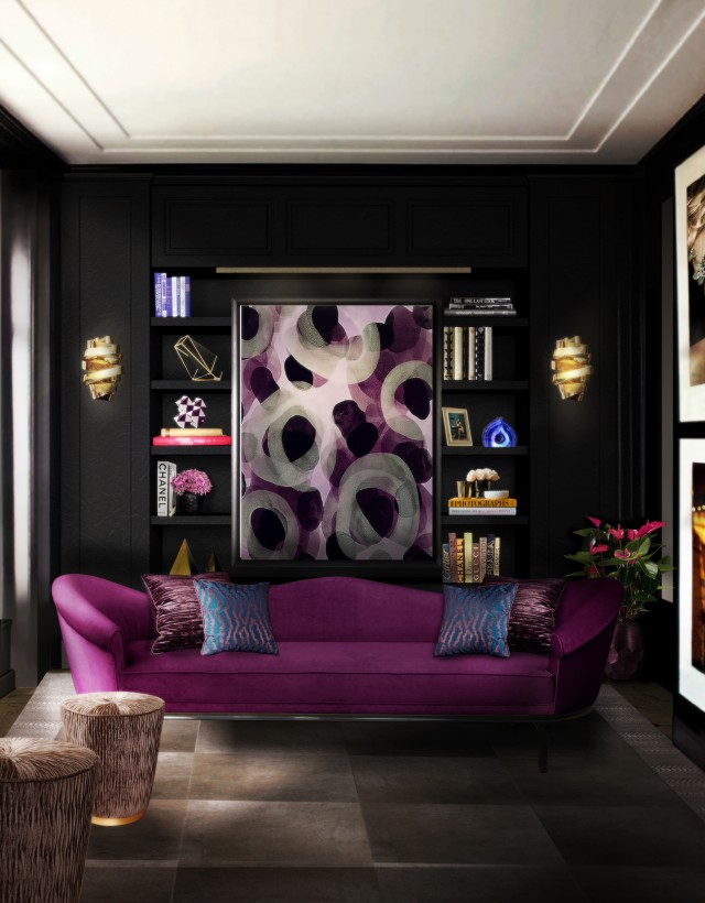2016 Trends for Living Room living room 2016 Trends for Living Room Room Decor Ideas 2016 Trends Living Room Living Room Design Living Room Ideas Dramatic Color Room Design