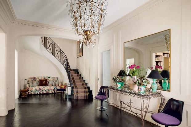Desde París con amor: Glamour francesa de Home Interiors francesa del encanto de Home Interiors Desde París con amor: Glamour francesa de Interiores Decoración para habitaciones Ideas del encanto francés de Interiores Diseño de interiores de lujo de lujo en villas Paris Design Hotel Paris 6 e1455627590278