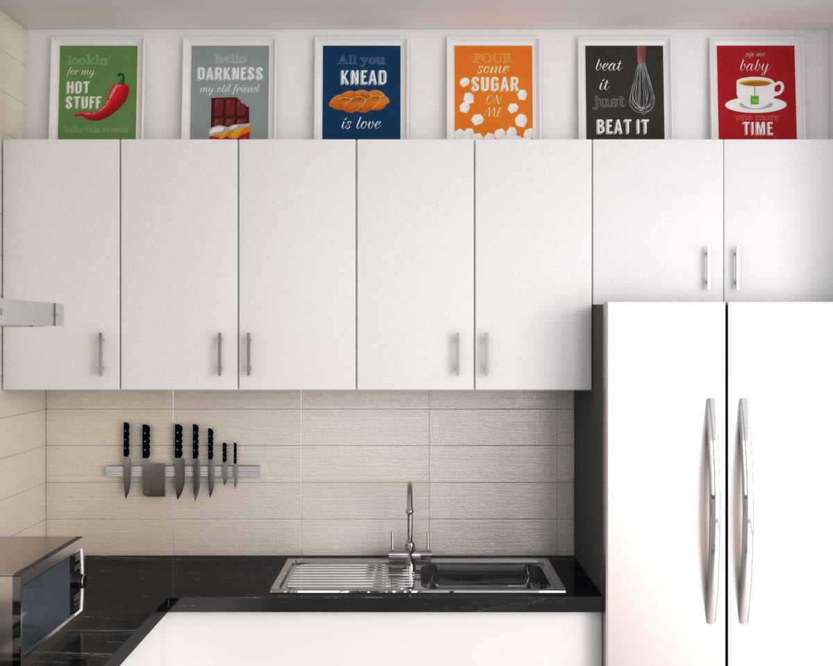 above kitchen cabinet decor ideas