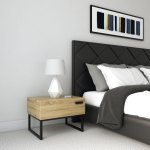 What Color Nightstand With Black Bed Roomdsign Com