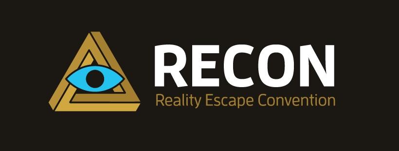 RECON eye & penrose triangle logo.