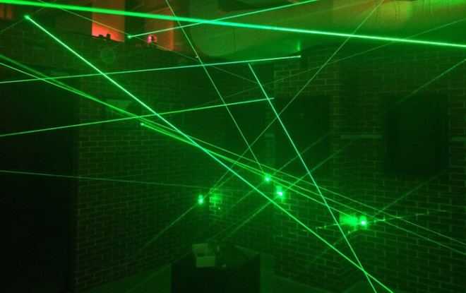 OMEscape NYC – The Penitentiary - Laser Grid