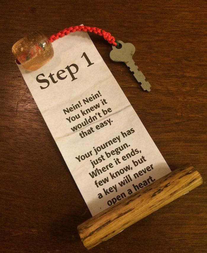 3 - Step 1 Scroll
