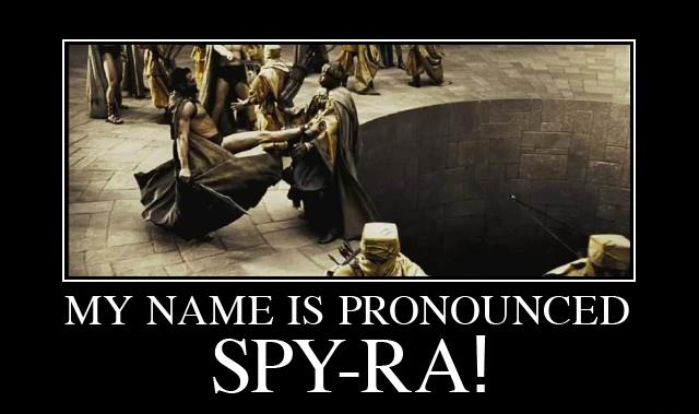 My name is pronounced Spira