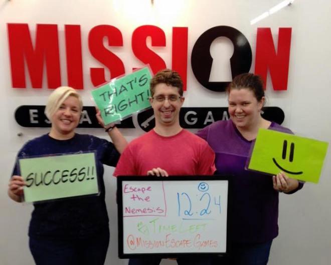 Amanda, Drew, Thea - Mission Escape Nemesis