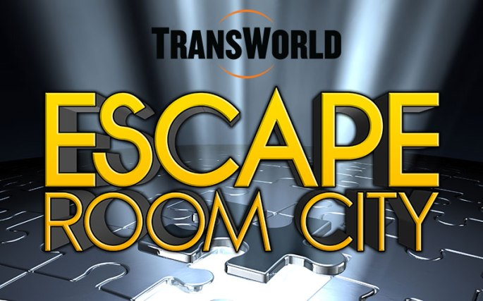 TransWorld Escape Room City Logo