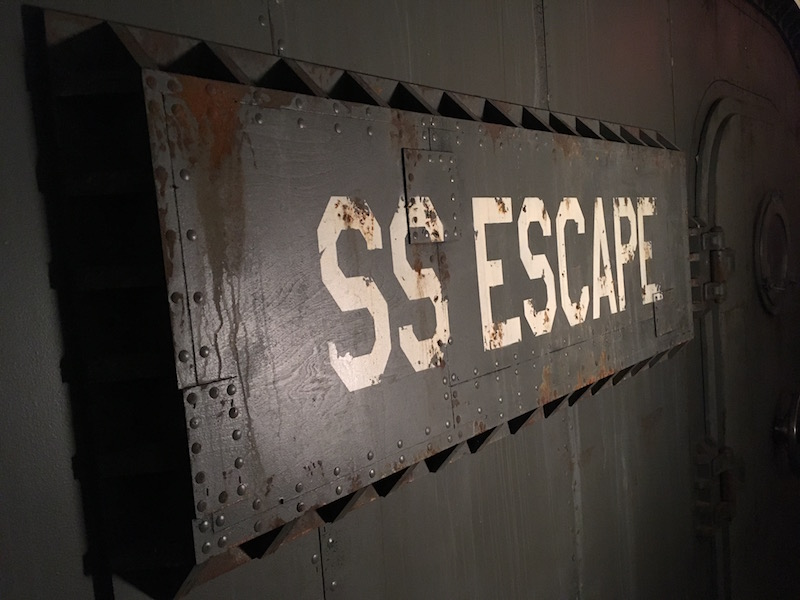 Escape The Room Nyc Submarine Review Room Escape Artist