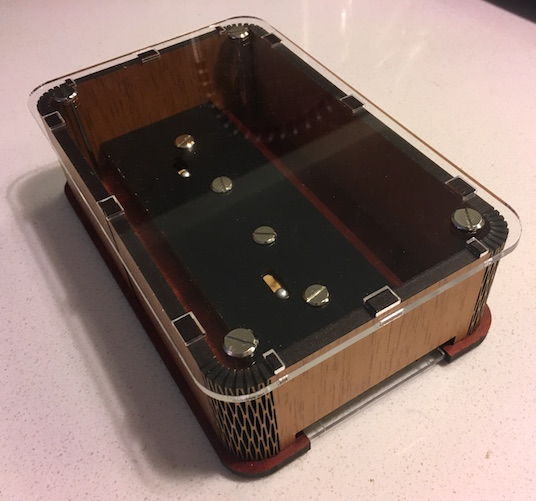 The Viking Box's transparent bottom.