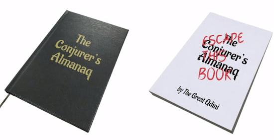 The Conjurer's Almanaq: Escape This Book cover.