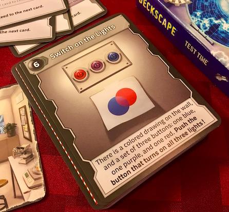 A color mixture introduction puzzle.