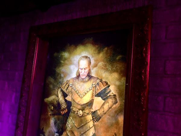 In-game: The portrait of Vigo the Carpathian.