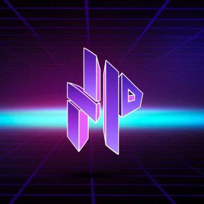 The purple and blue No Proscenium logo