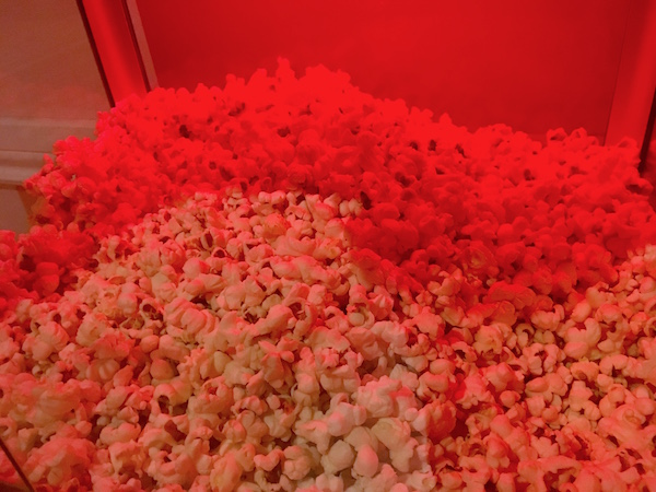 In-game: a large amount of popcorn.