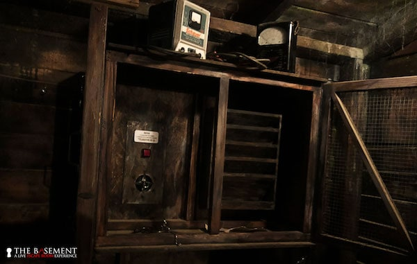 In-game: an electrical device mounted to a wall.