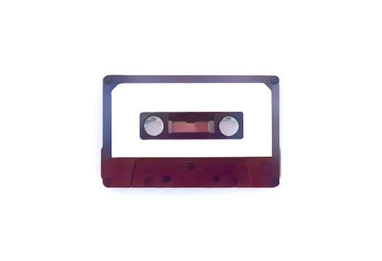 Stylized image of a mixtape.