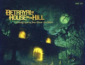 Haunted House box for Betrayal.