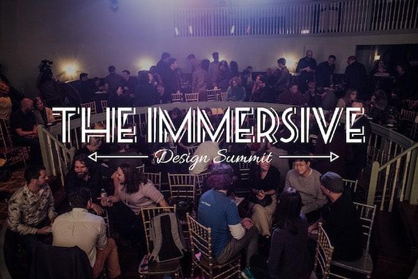 Immersive Design Summit audience.