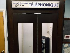 In-game: A beautiful old telephone booth.