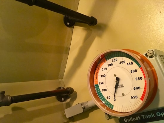 In-game: Ballast Tank gauge.