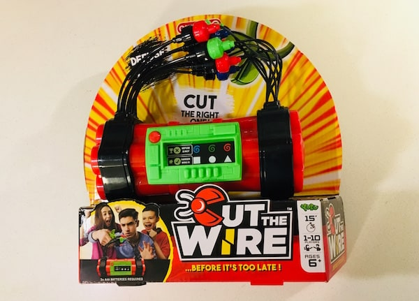 Cut the Wire's packaging.