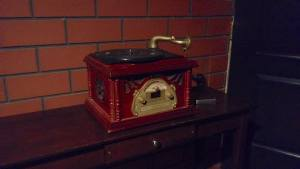 In-game: A replica phonograph.