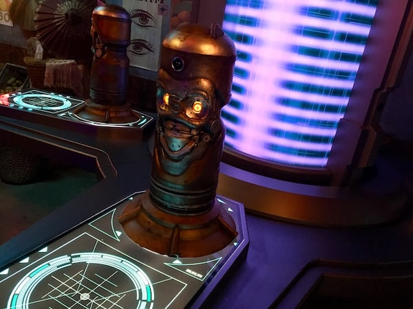 In-game: A robotic totem.