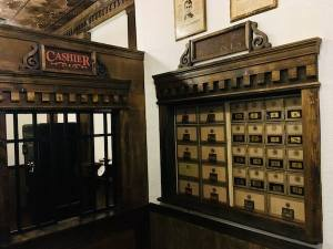 In-game: Post office boxes.