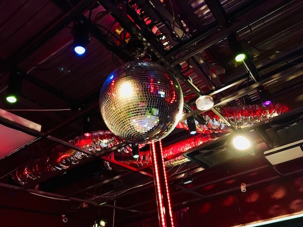 In-game: a disco ball