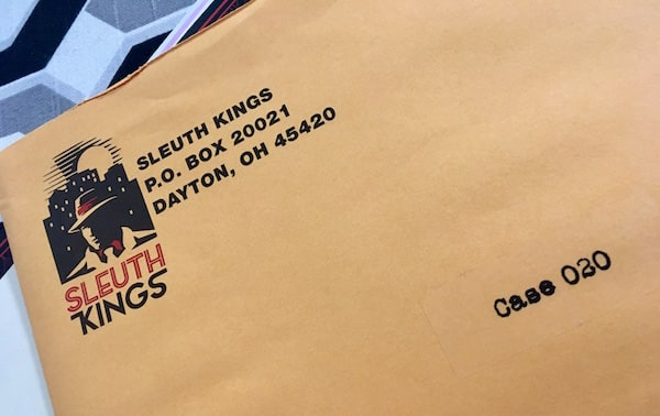 In-game: Sleuth Kings Case 020 envelope.
