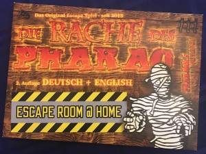 "The German & English cover for ""Pharoah's Revenge an Escape Room @ Home"""