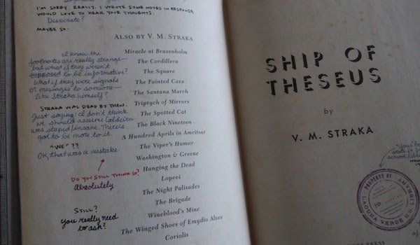 Ship of Theseus title page.