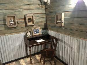 In-game: A captain's desk on his boat.