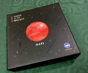 Box for the Pieces of the Galaxy Mars puzzle.
