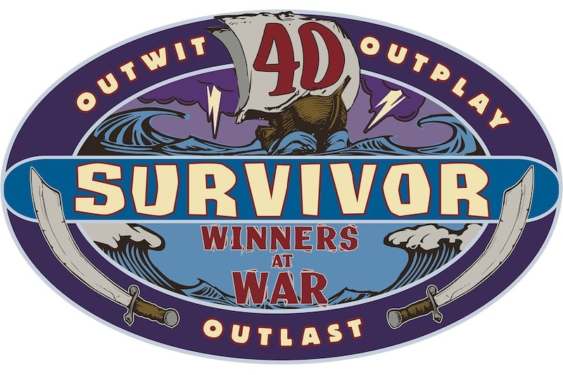 Survivor Season 40 Winners at War logo