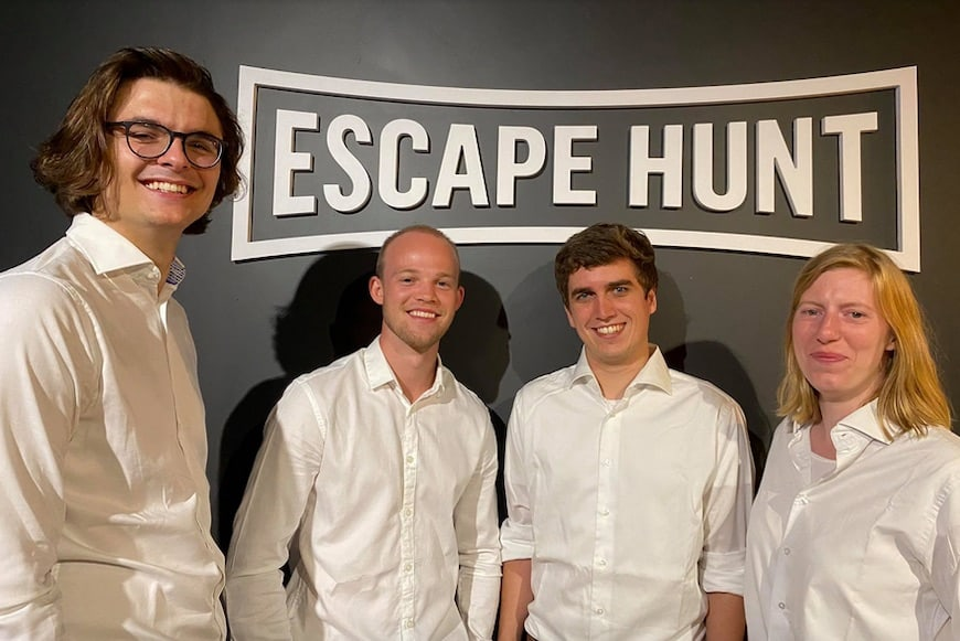 The team at Escape Hunt