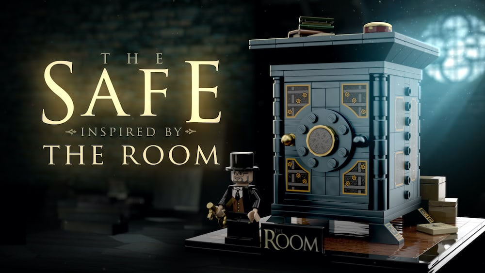 The Safe Lego set inspired by The Room.